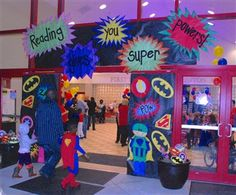 Thursday, October 23 was a great night for Clinton Park at their Family Read Night. Students, parents and teachers all donned their superhero costumes to celebrate reading. With fun such as...