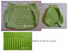 calcinha/tapa fralda para bebe