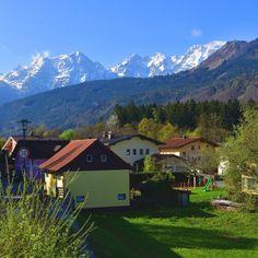 Bad Vigaun mit Hohem Göll Bad, Mountains, The Originals, World, Nature, Travel, The World, Naturaleza, Viajes