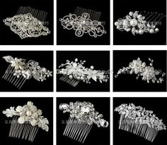 Wholesale Wedding Jewelry - Buy Variety of Styles Bride's Comb Hair Accessories Rhinestone Crystal Pearls Tiaras 2014 New Fashion Wedding Jewelry Prom Party Evening Pageant, $19.9 | DHgate