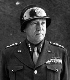 General George Patton, My father saluted Patton on the road, Patton was in a touring car in the winter with the top down, shortly after that Patton's car slid off the icy road and died as a result of the car accident. My father a Captain was probably the last man to salute General Patton after the war had ended in Germany.