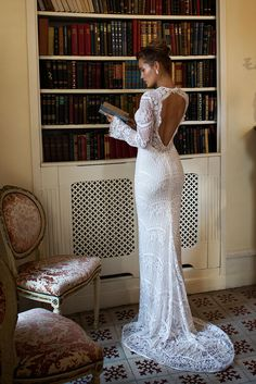 Gorgeous back on this Julie Vino gown. 2dc7b1a00d7