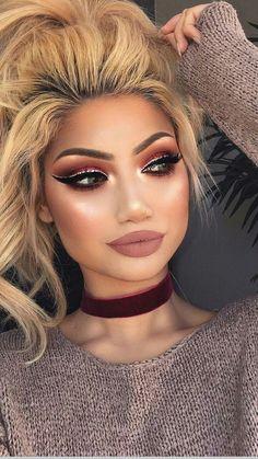 -Dramatic Eye Make-up