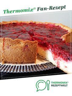 Pudding-Schmand-Kuchen mit Himbeertopping von berna03. Ein Thermomix ® Rezept aus der Kategorie Backen süß auf www.rezeptwelt.de, der Thermomix ® Community.
