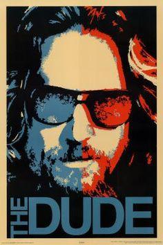Amazon.com: The Big Lebowski Movie (The Dude) Poster Print - 24x36 Movie Poster Print, 24x36: Home & Kitchen