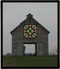 Found the quilt piece I'll paint for our old barn.