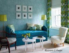 Rosamaria G Frangini   Architecture Interior Design   Turquoise and Green