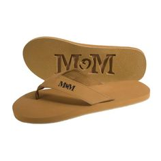 e149acdb050d Basic promotional imprinted custom flip flops with your logo on strap.