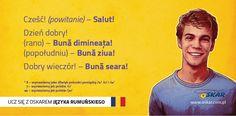 Ucz się z Oskarem języka rumuńskiego! #nauka #język #rumuński #rozmówki #Rumunia