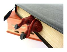 Hey, I found this really awesome Etsy listing at http://www.etsy.com/listing/128569264/devil-legs-bookmark-humorous-bookmarks