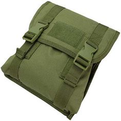 Condor Large Utility / General Purpose Pouch (OD Green), Tactical Gear/Apparel, Pouches, OD / Green Pouches - Evike.com Airsoft Superstore
