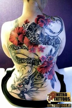 tatuaggi draghi giapponesi