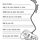 A quick worksheet to help your students expand on their explanation of their favorite video games. Can also be used to facilitate conversations be. Game Theory, Data Sheets, You Videos, Cringe, Prompts, Your Favorite, Something To Do, Worksheets, Video Games