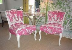 #Pink chairs { kelly design }