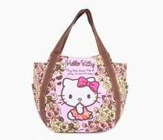 Hello Kitty Tote Bag: Roses