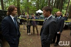 """Supernatural -- """"Bitten"""" -- Image SN804b_6012 -- Pictured (L-R): Jared Padalecki as Sam and Jensen Ackles as Dean -- Credit: Jack Rowand/The CW -- © 2012 The CW Network. All Rights Reserved"""