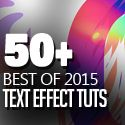 50 Best Text Effect Tutorials  graphicdesignjunction.com