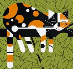 charley harper-will always be my #1 favorite artist. He was an amazing man! I was lucky enough to meet him