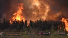 Wildfires force evacuation of entire population of Fort McMurray, Alberta, Canada, in oil sands region; First Nations declare emergency. Medan, Natural Phenomena, Natural Disasters, Canadian Red Cross, Minions, Oil Sands, Buy Youtube Subscribers, Fort Mcmurray, Wild Fire