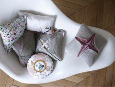 origami cushions