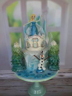 Frozen cake @macachoux. Facebook