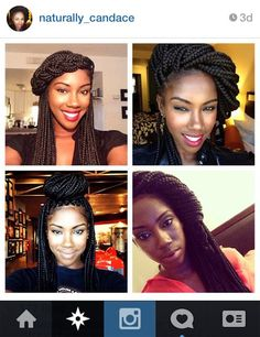 Braids, updos and twists offer added protection to natural hair during the cooler months. Take inspiration from IG faves!