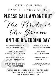Wedding Planning Tips, Wedding Tips, Fall Wedding, Wedding Planner, Our Wedding, Dream Wedding, Wedding Hacks, Wedding Party List, Wedding Weekend Itinerary