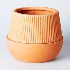 terracotta ridge planter // Have You Met Miss Jones