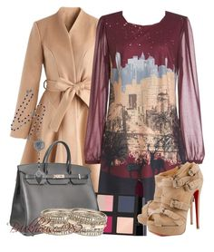 """Untitled #925"" by brickhouse1982 ❤ liked on Polyvore featuring Chicwish, Yumi, Christian Louboutin, The Body Shop, Hermès and DANNIJO"