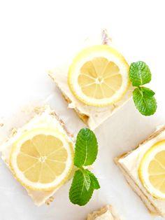 Tarta fácil de limón // Easy lemon cake