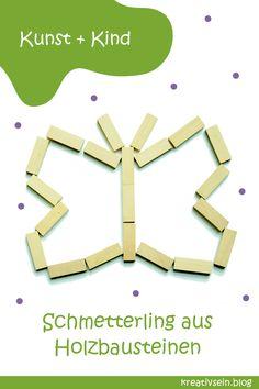Fun Crafts For Kids, Preschool Crafts, Montessori, Brain Builders, Wooden Building Blocks, Kindergarten, Construction, Letters, Ideas