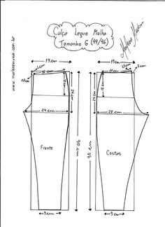 Most up-to-date Screen sewing pants for women Concepts 55 Ideas For Sewing Clothes Diy Dress Fit Sewing Pants, Sewing Clothes, Diy Clothes, Bodice Pattern, Pants Pattern, Dress Sewing Patterns, Clothing Patterns, Sewing Collars, Sewing Lessons