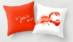 You're my lobster pillows- Julie Song Ink