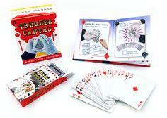 """""""Truques de Cartas""""   Aprende os truques dos profissionais e surpreende os teus amigos com a elegância das tuas mãos habilidosas!   Este livro é recomendado para mais de 7 anos."""
