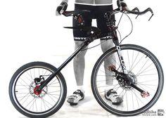 MC2 Transforming bike // Engineers from Singapore pour their creative energies into this multi configurable bike. || via roadbikereviews.com