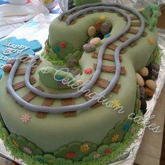 Thomas the tank engine 3 cake 3rd birthday