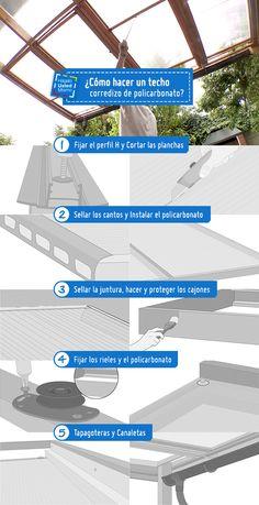 Un cobertizo cuidará tu terraza de las lluvias y de los rayos del sol, además, le dará un toque acogedor a tu ambiente. Fabrica el tuyo siguiendo los sencillos pasos de este Hágalo Usted Mismo. #HágaloUstedMismo #HUM