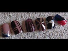 Scotch Tape Nails: 3 Looks!