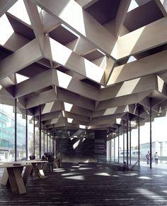 - Chevron - Kengo Kuma & Associates - Berlin/Germany, 2015 by Mir