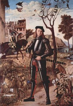 Young Knight in a Landscape by Vittore Carpaccio via DailyArt mobile app