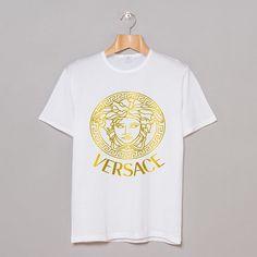 Versace men versace and versace t shirt on pinterest for Versace t shirts women