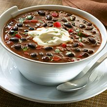 Chipotle Black Bean Soup #comfortfood