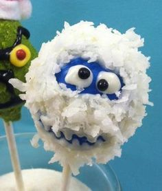 Rudolph Snow Monster Pops