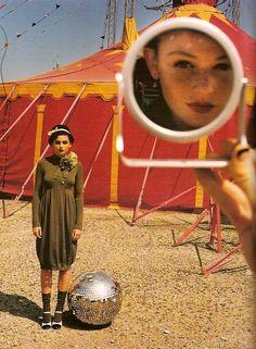 """Manege Frei"" - Cintia Dicker by Koto Bolofo for German Vogue"