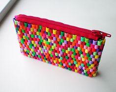 StyleDesignCreate: Pink purse of hama beads