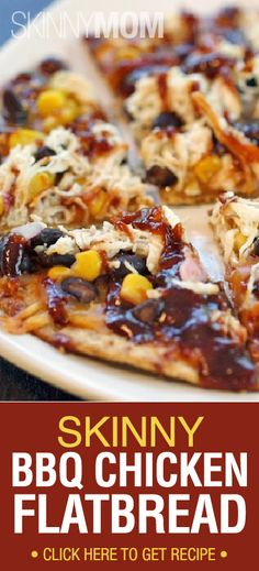 Our Skinny BBQ Chicken Flatbread