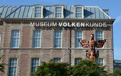 Museum volken kunde, leiden, The Netherlands. Typeface; Neue Helvetica