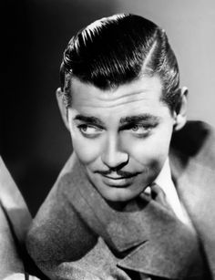 Clark Gable 1930s Mens Hairstyle 800x1043 1930s Hairstyles Revisited: Short & Sleek