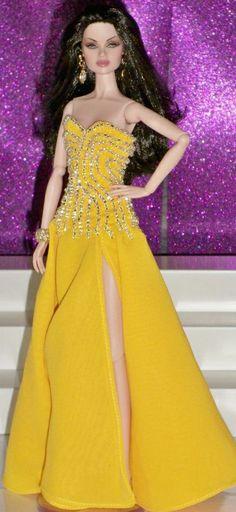 barbie doll gowns..mdu Venezuela . 12 34 4