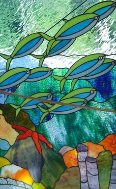 Ocean Stained Glass Patterns